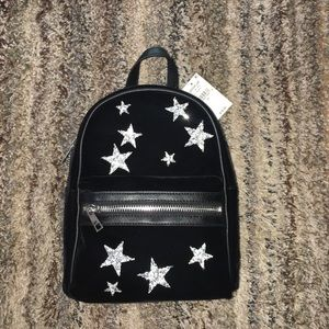 Lord & Taylor Bags - NWT Design Lab Velvet Backpack